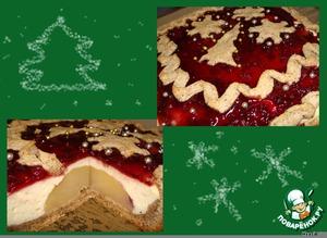 Рецепт Рождественский творожный пирог