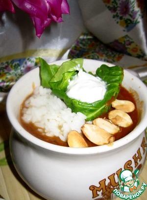 Рецепт Суп карри из чечевицы