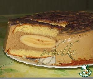 Рецепт Сливочно-кофейный торт с бананами