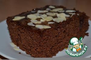 """Рецепт: Шоколадный пирог """"Кухе"""""""