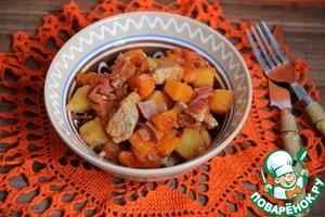Рецепт Рагу из свинины и тыквы