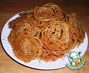 Рецепт Jalebi (Джалеби) – излюбленное лакомство индийских сладкоежек