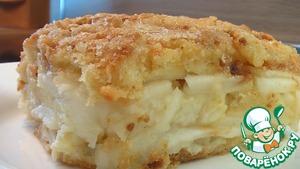 Рецепт Запеканка из яблок и белых сухарей