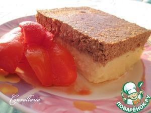 Рецепт Картофельная запеканка с печеночным суфле