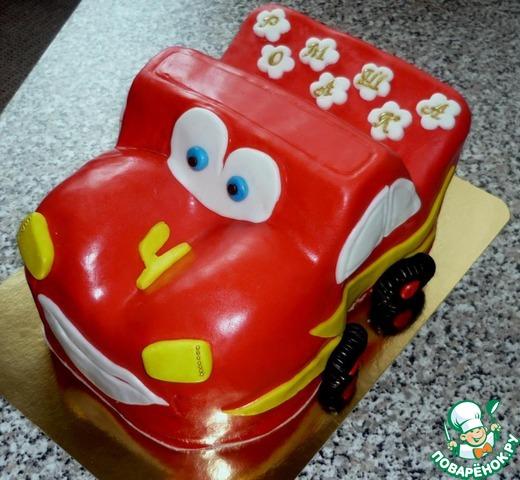 Торт тачки рецепт с фото