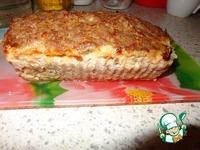 Мясной кекс с грибами и сыром ингредиенты