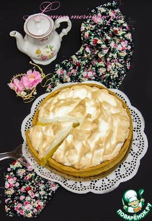 Рецепт Лимонный торт с меренгой