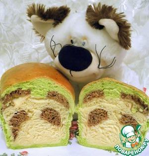 """Рецепт Хлеб """"Панда"""""""