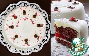 Рецепт Рождественский торт