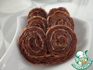 Рецепт Шоколадное слоеное тесто от Стельоса Парльяроса