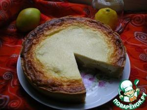 Рецепт Грушево-творожный пирог