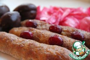 Рецепт Чесночные колбаски