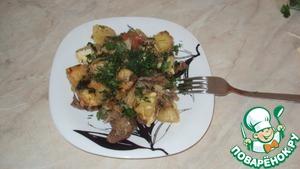 Рецепт Баранина под картофелем