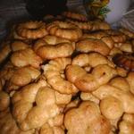 Медовое печенье для кондитерского шприца
