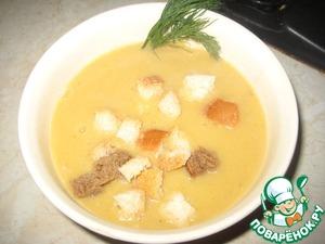 Рецепт Суп-пюре из тыквы и цветной капусты