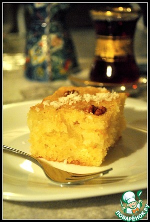 Шамбали-десерт манный
