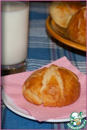 Рецепт Сладенькие мягкие булочки с картофелем и лимонной цедрой