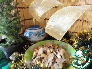 Рецепт Куриные желудки по-корейски