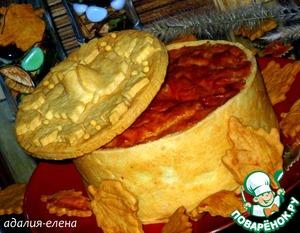 Рецепт Timbale-итальянский пирог