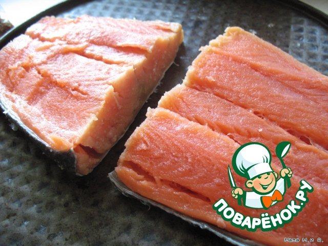 Рыбное филе с сырными кармашками домашний рецепт с фото пошагово #1