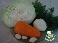 """Салат """"Кальмары по - корейски"""" ингредиенты"""