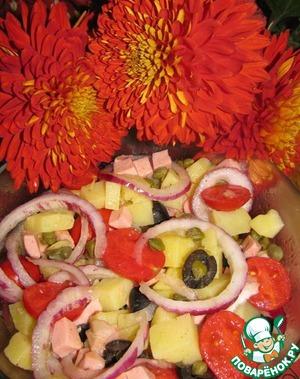 Рецепт Картофельный салат по-итальянски