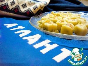 Рецепт Картофельные клецки с форелью