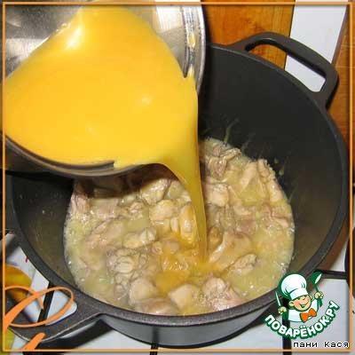 Апельсиновая курица домашний пошаговый рецепт приготовления с фото #13
