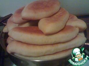 Рецепт Пирожки с картошкой и печенкой