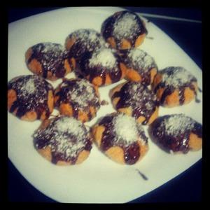 Рецепт Кокосовое печенье в аэрогриле