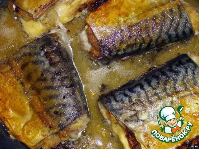 Фото рецепт скумбрия с сыром