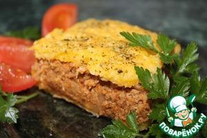 Рецепт Полента с мясным фаршем