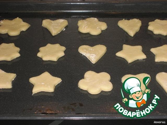 Песочное печенье пошаговый рецепт с фото