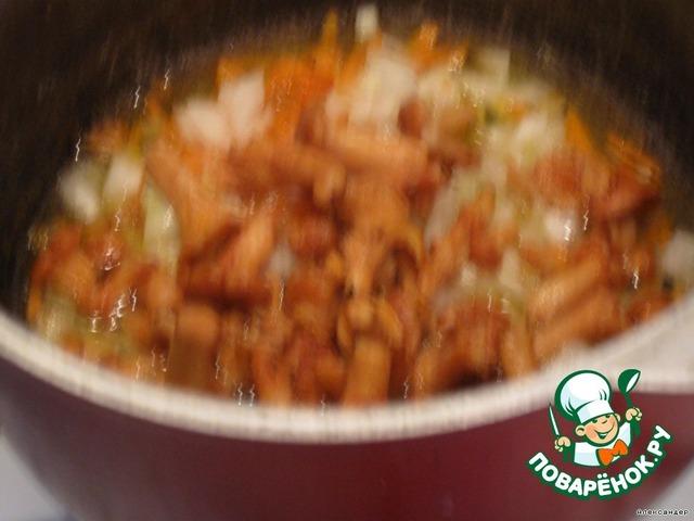 Фото пошаговые рецепты лисичек в сметане
