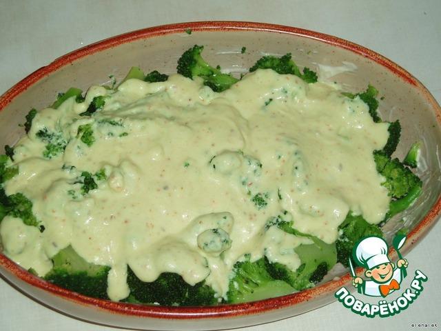 Брокколи рецепт пошаговый с