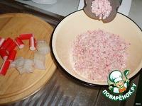 Рыбные котлеты с крабовыми палочками ингредиенты