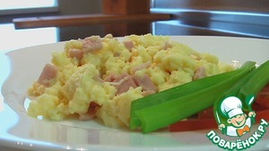 Рецепт Взбитая яичница
