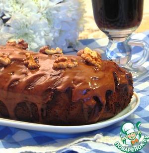 Рецепт Шоколадный пирог с грецким орехом