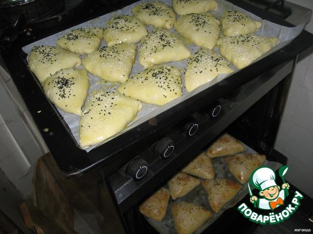 Самса духовке пошаговый рецепт фото