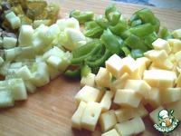 """Салат """"Нежное сердце"""" - кулинарный рецепт"""
