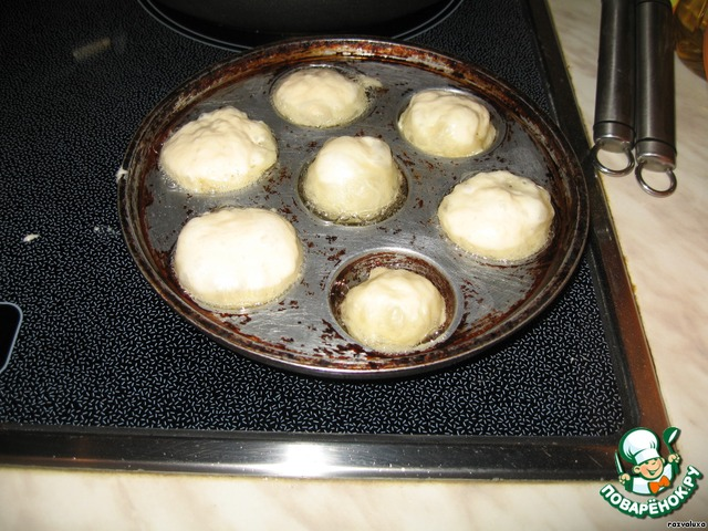 Рецепт пончиков в формочке