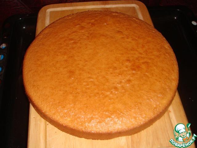 Торт бисквит суфле рецепт с фото пошагово
