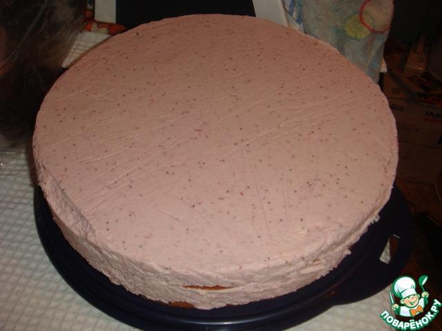 Суфле для бисквитного торта пошаговый рецепт