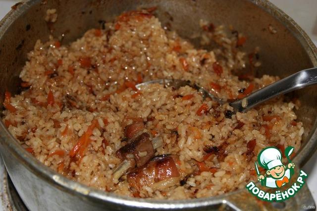 плов узбекский рецепт с фото пошагово