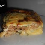Хлебно-сырная запеканка к завтраку