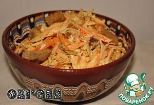 """Рецепт Старый """"Морковный салат"""" на новый лад"""