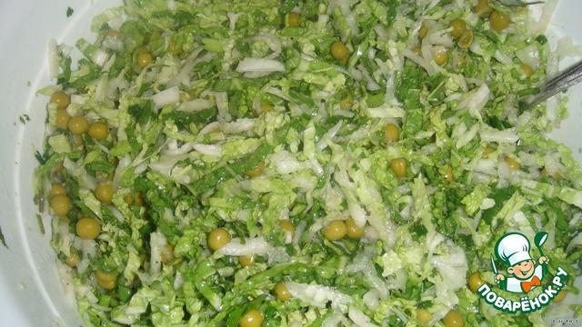 Рецепт салат весна