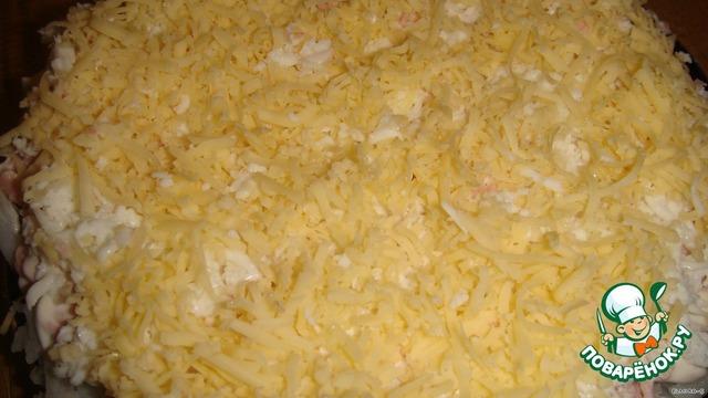суп пюре с креветками и сыром рецепт