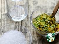 Ароматная соль с цедрой и розмарином ингредиенты