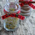 Ароматная соль с цедрой и розмарином